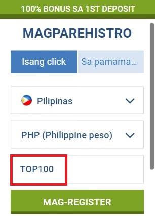 1xbet promo code philippines
