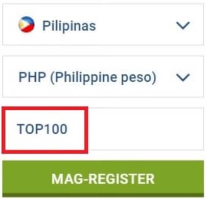 1xbet promo code top100 philippines